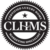 Certified Luxury Home Marketing Specialist seal