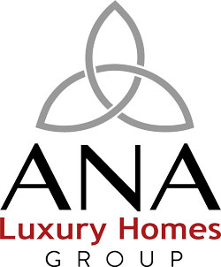 Ana Luxury Homes Logo, vertical