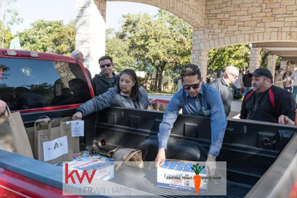 Swanson Realty serving the Texas food bank